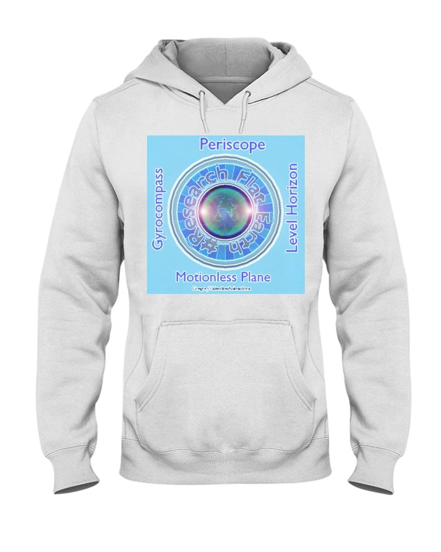 Flat Earth NYC Designs Hooded Sweatshirt