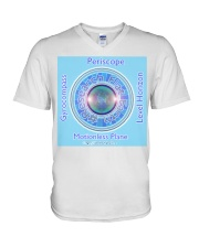 Flat Earth NYC Designs V-Neck T-Shirt tile