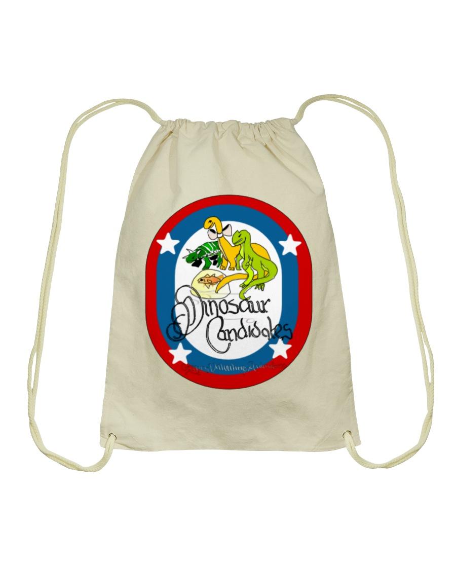 Ultimate Dinosaur Candidates merch store Drawstring Bag