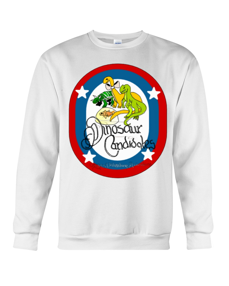 Ultimate Dinosaur Candidates merch store Crewneck Sweatshirt