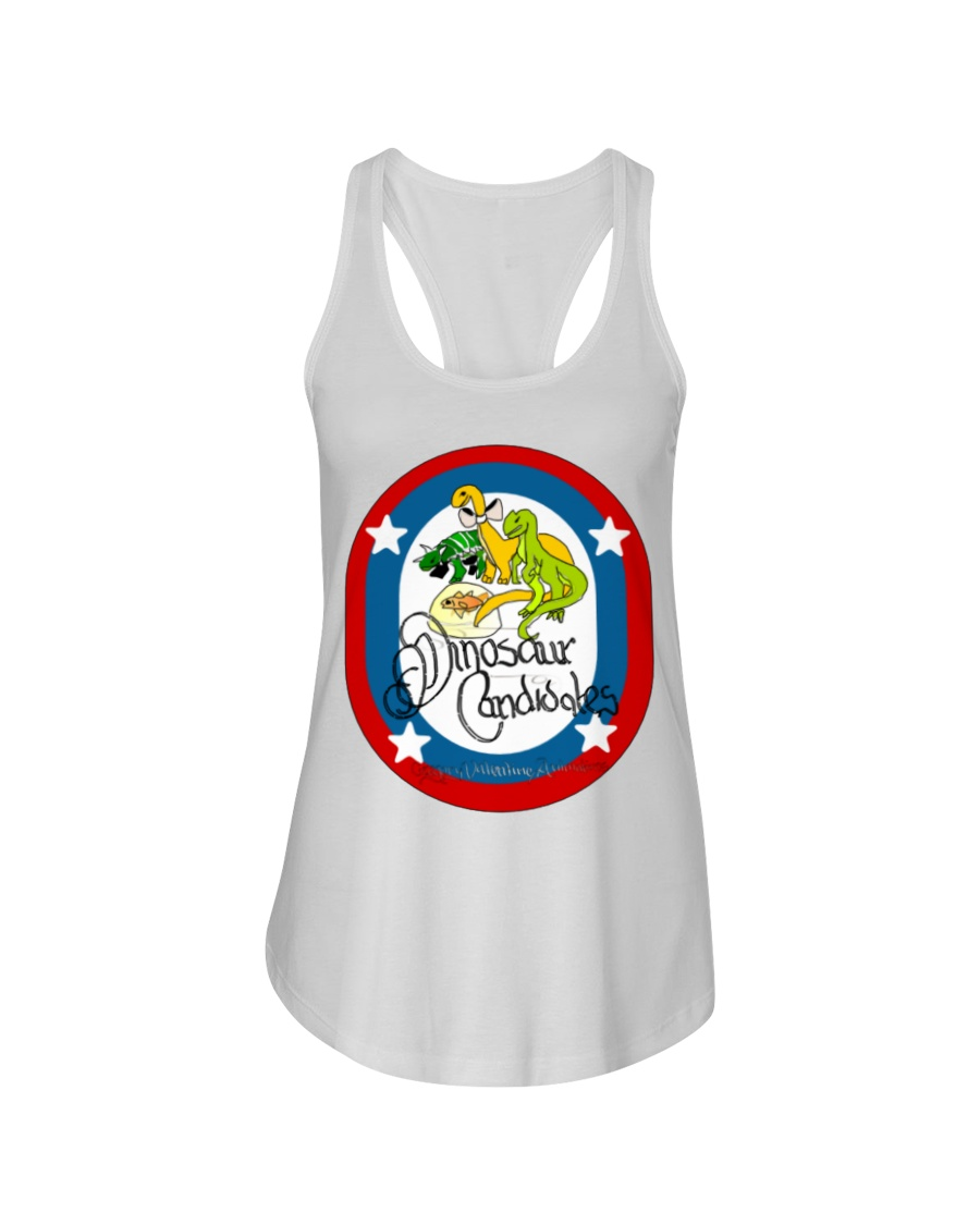 Ultimate Dinosaur Candidates merch store Ladies Flowy Tank