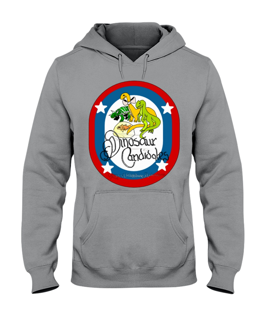 Ultimate Dinosaur Candidates merch store Hooded Sweatshirt