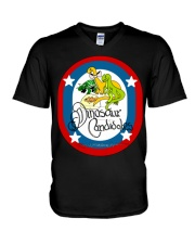 Ultimate Dinosaur Candidates merch store V-Neck T-Shirt front