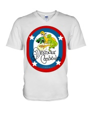 Ultimate Dinosaur Candidates merch store V-Neck T-Shirt thumbnail