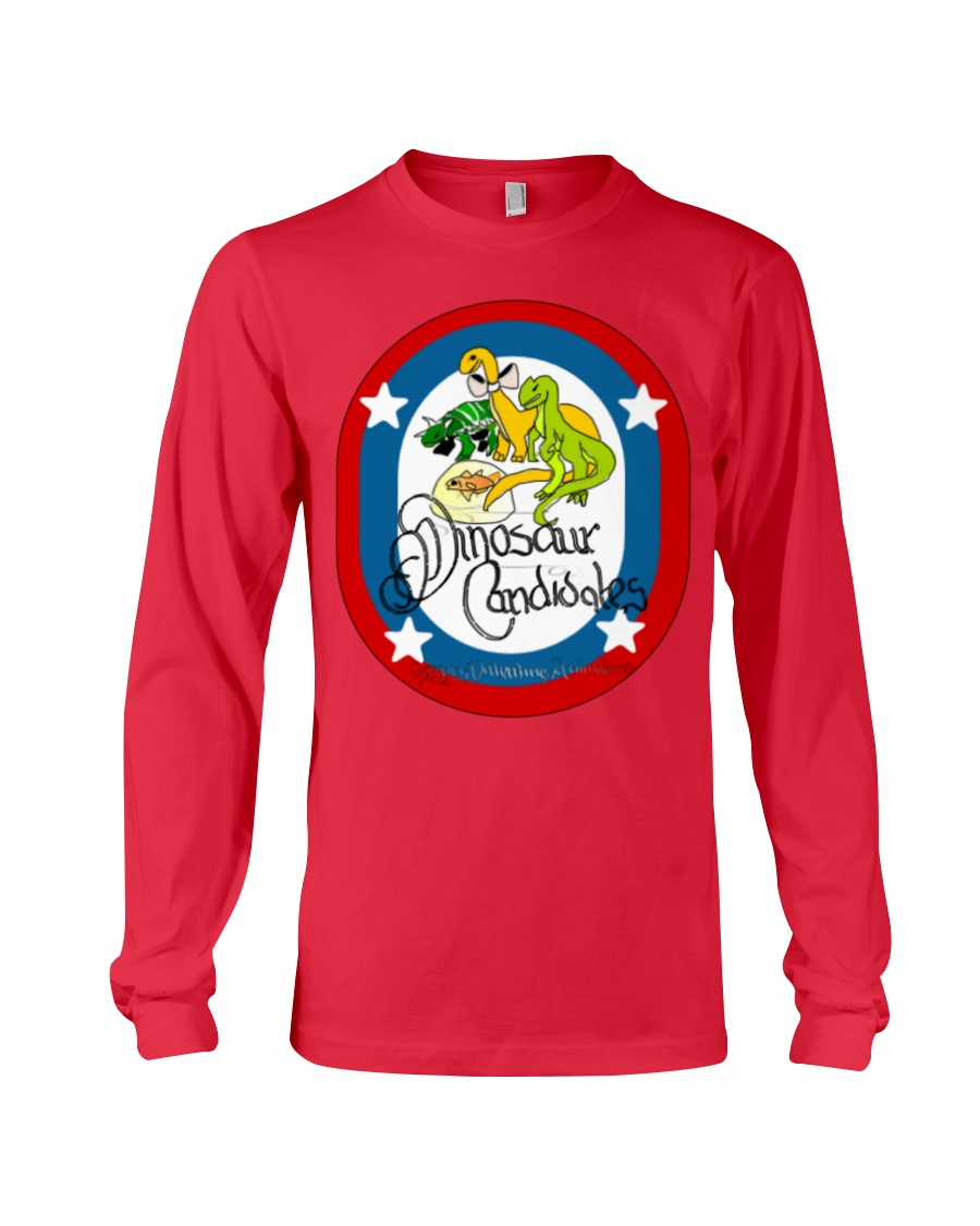 Ultimate Dinosaur Candidates merch store Long Sleeve Tee