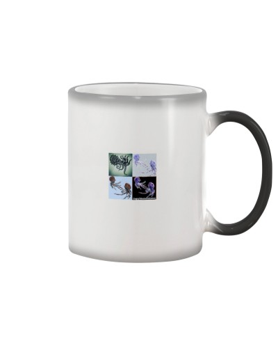 5thday Deepsea Ammonite Color changing coffee cup