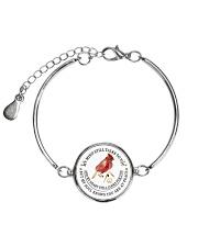 Cardinal 3D Necklace Metallic Circle Bracelet thumbnail