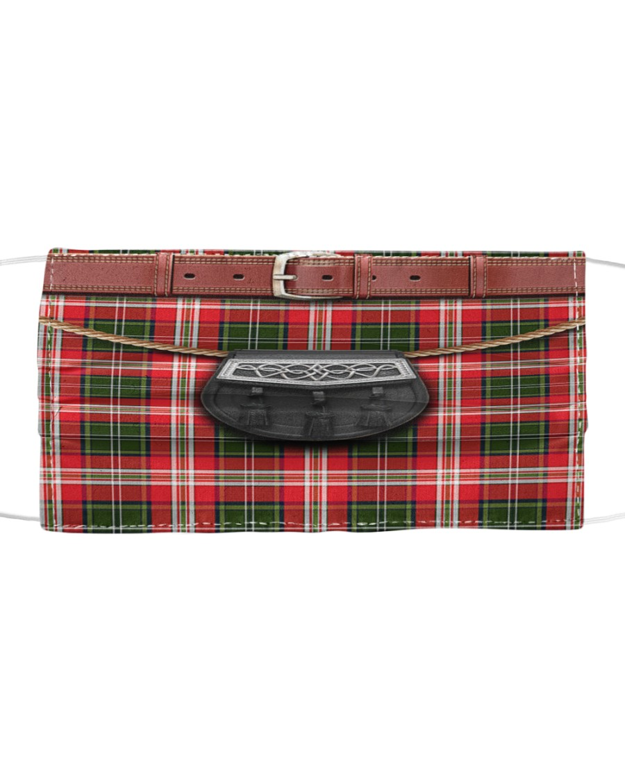 Kilt Cloth face mask