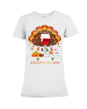 Hallothanksmas Premium Fit Ladies Tee thumbnail