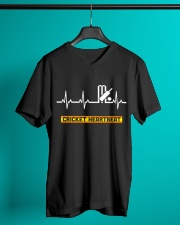 CRICKET HEARTBEAT V-Neck T-Shirt lifestyle-mens-vneck-front-3