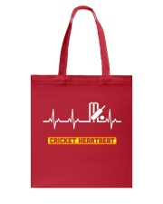 CRICKET HEARTBEAT Tote Bag thumbnail