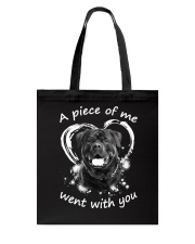 Rottweiler My Piece Tote Bag thumbnail