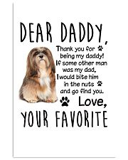 Lhasa Apso Favorite 11x17 Poster front