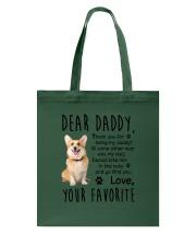 Cardigan Welsh Corgi Dear Daddy Mug 1801  Tote Bag thumbnail