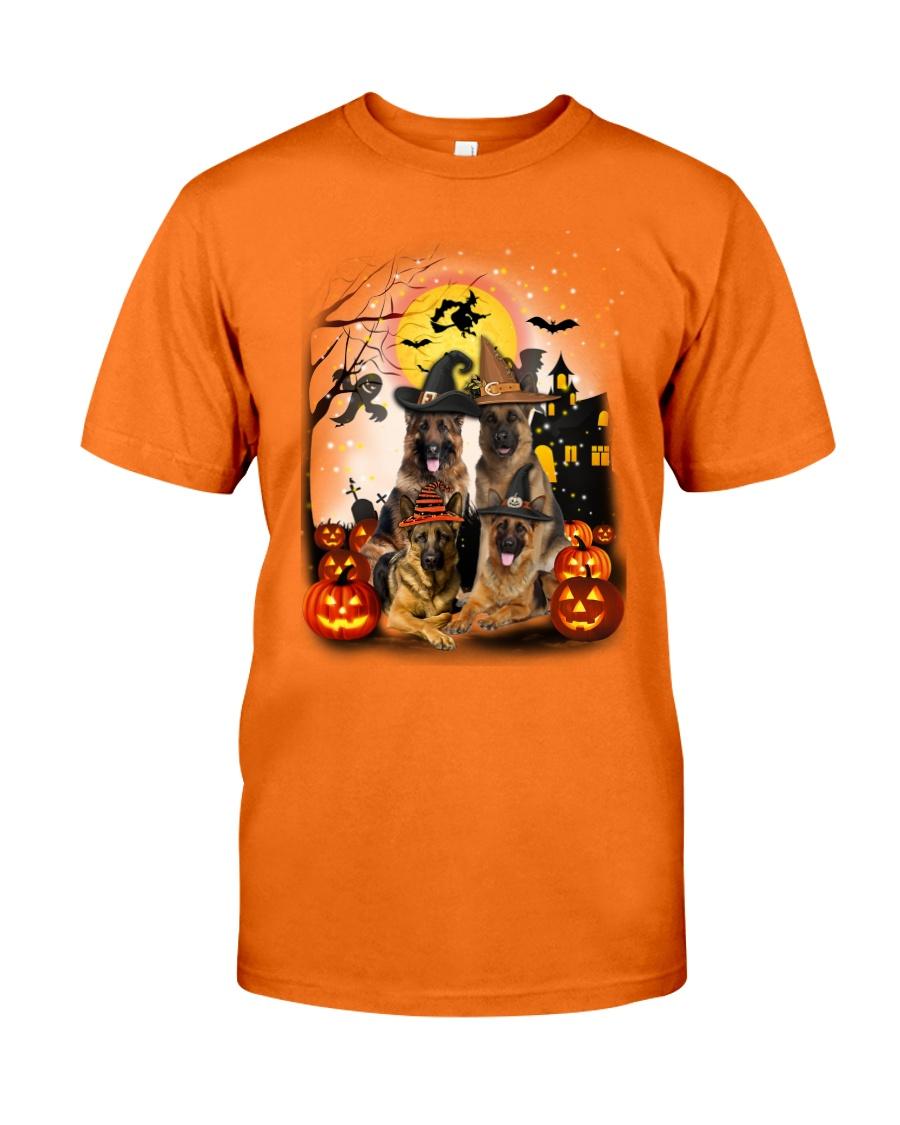 German Shepherd Halloween Classic T-Shirt
