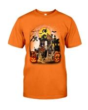 German Shepherd Halloween Classic T-Shirt front
