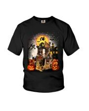 German Shepherd Halloween Youth T-Shirt thumbnail