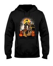 German Shepherd Halloween Hooded Sweatshirt thumbnail