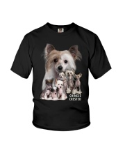 Chinese Crested Awesome Family 0701 Youth T-Shirt thumbnail