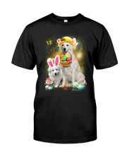 Kuvasz Happy Easter Day 2601  Classic T-Shirt front