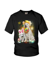 Kuvasz Happy Easter Day 2601  Youth T-Shirt tile