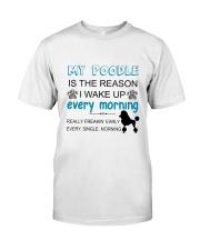 Poodle reason Classic T-Shirt thumbnail