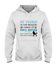 Poodle reason Hooded Sweatshirt thumbnail