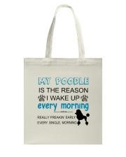 Poodle reason Tote Bag thumbnail