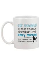 Poodle reason Mug back