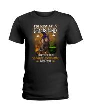 Dachshund Human Costume 1809 Ladies T-Shirt thumbnail
