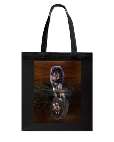 Tibetan-Mastiff Reflection Mug 1312