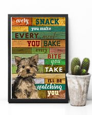 Yorkshire Terrier Watching Poster 1601 11x17 Poster lifestyle-poster-8