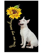 Bull Terrier Sunflower You Are 0501 11x17 Poster front