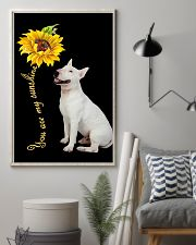 Bull Terrier Sunflower You Are 0501 11x17 Poster lifestyle-poster-1