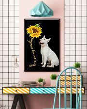 Bull Terrier Sunflower You Are 0501 11x17 Poster lifestyle-poster-6
