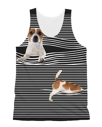 Jack Russell Terrier Striped