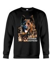 German Shepherd Awesome Crewneck Sweatshirt front
