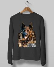German Shepherd Awesome Crewneck Sweatshirt lifestyle-unisex-sweatshirt-front-10