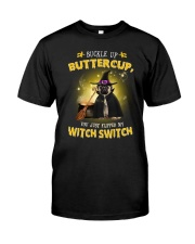 Pug and witch Classic T-Shirt front