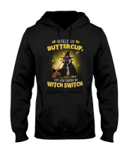 Pug and witch Hooded Sweatshirt thumbnail