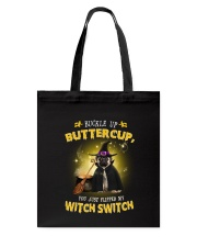 Pug and witch Tote Bag thumbnail