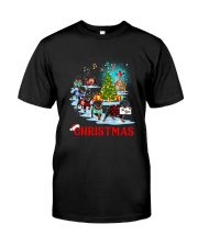Rottweiler Merry Xmas Classic T-Shirt thumbnail
