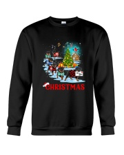Rottweiler Merry Xmas Crewneck Sweatshirt front