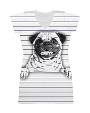 THEIA Pug Under Line 1107 All-over Dress thumbnail