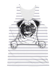 THEIA Pug Under Line 1107 All-over Unisex Tank front
