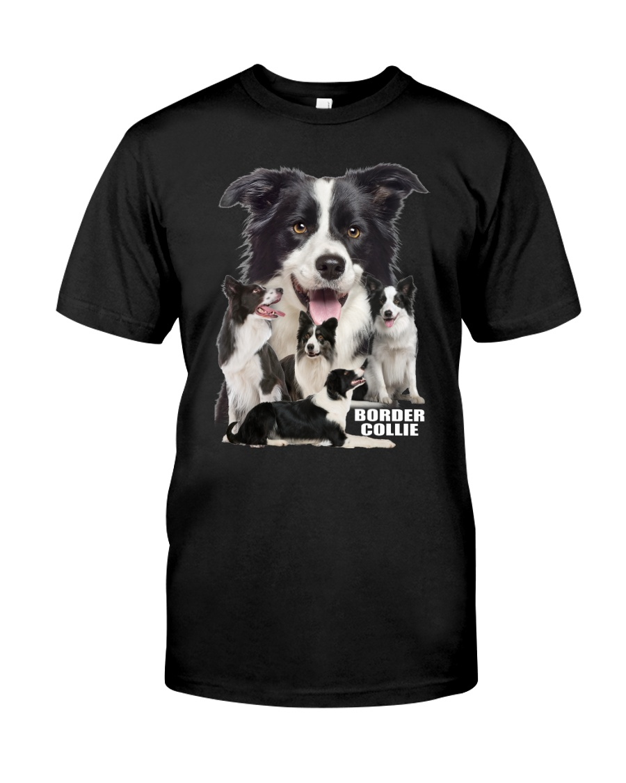 Border Collie Awesome Family 0501 Classic T-Shirt