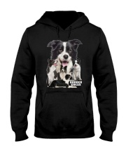 Border Collie Awesome Family 0501 Hooded Sweatshirt thumbnail