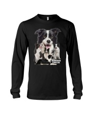 Border Collie Awesome Family 0501 Long Sleeve Tee thumbnail