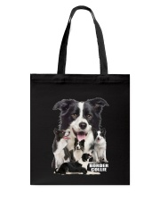 Border Collie Awesome Family 0501 Tote Bag thumbnail