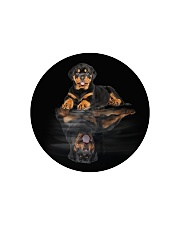Rottweiler Believe In Yourself 2310 Circle Cutting Board thumbnail